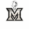 Miami Redhawks Logo Cut Out Dangle
