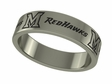 Miami Redhawks Stainless Steel Ring