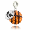 Michigan State Crystal Drop Charm