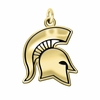 Michigan State Spartans 14KT Gold Charm