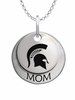 Michigan State Spartans MOM Necklace