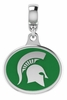 Michigan State Spartans Silver Charm