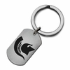 Michigan State Spartans Stainless Steel Key Ring