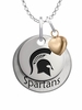 Michigan State Spartans with Heart Accent