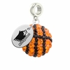 Michigan Tech Huskies Crystal Drop Charm