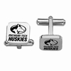 Michigan Tech Huskies Stainless Steel Cufflinks