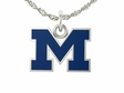 Michigan Wolverines Enamel Charm