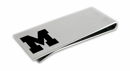 Michigan Wolverines Money Clip
