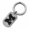 Michigan Wolverines Stainless Steel Key Ring