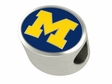 Michigan Wolverines Premium Bead