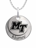 Middle Tennessee State Blue Raiders Alumni Necklace