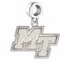 Middle Tennessee State Blue Raiders Dangle Charm