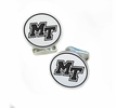 Middle Tennessee State Blue Raiders Sterling Silver Cufflinks