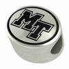 Middle Tennessee State Silver Bead