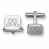 Minnesota Golden Gophers Stainless Steel Cufflinks