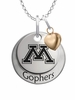 Minnesota Golden Gophers with Heart Accent