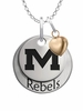 Mississippi Ole Miss Rebels with Heart Accent