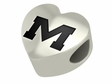 Mississippi Rebels Heart Shape Bead