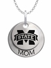Mississippi State Bulldogs MOM Necklace