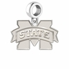 Mississippi State Bulldogs Dangle Charm