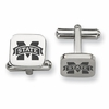 Mississippi State Bulldogs Stainless Steel Cufflinks