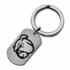 Mississippi State Bulldogs Stainless Steel Key Ring