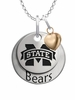 Mississippi State Bulldogs with Heart Accent