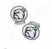 Mississppi State Bulldogs Sterling Silver Cufflinks