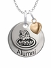 Missouri Southern State Lions Alumni Necklace with Heart Accent