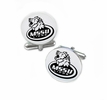Missouri Southern State Lions Cufflinks Stainless Steel Round Top