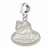Missouri Southern State Lions Natural Finish Dangle Charm