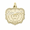Missouri State Bears 14K Yellow Gold Natural Finish Cut Out Logo Charm