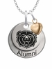 Missouri State Bears Alumni Necklace with Heart Accent