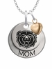 Missouri State Bears MOM Necklace with Heart Charm