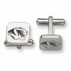 Missouri Tigers Stainless Steel Cufflinks