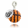 Montana Grizzlies Crystal Drop Charm