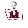 Montana Grizzlies Logo Dangle Charm