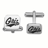 Montana Grizzlies Stainless Steel Cufflinks