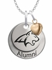 Montana State Bobcats Alumni Necklace with Heart Accent