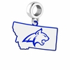 Montana State Bobcats Logo Dangle Charm