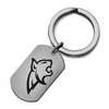 Montana State Bobcats Stainless Steel Key Ring