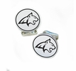 Montana State Fighting Bobcats Sterling Silver Cufflinks