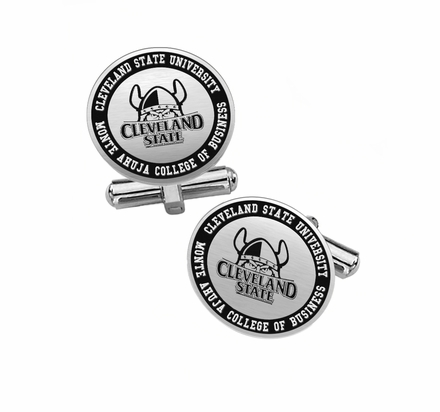 Monte Ahuja College of Business Cuff Links