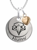 Morehead State Eagles Alumni Necklace with Heart Accent