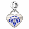 Morehead State Eagles Color Heart Dangle
