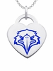 Morehead State Eagles Color Logo Heart Charm