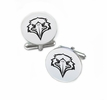Morehead State Eagles Cufflinks Stainless Steel Round Top