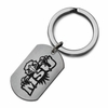 Morehead State Eagles Stainless Steel Key Ring
