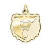 Morgan State Bears 14K Yellow Gold Natural Finish Cut Out Logo Charm