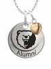 Morgan State Bears Alumni Necklace with Heart Accent